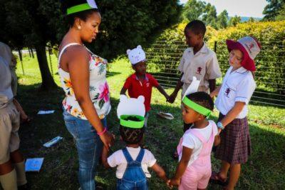 Cowan House Grade 5 Teddy Bears Picnic with iThemba